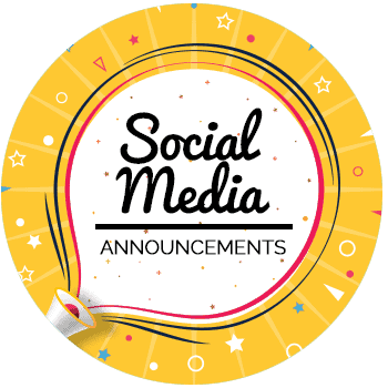 Social Media Announcements - All Free Invitations
