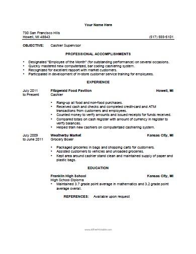 grocery store clerk resume sample store clerk responsibilities