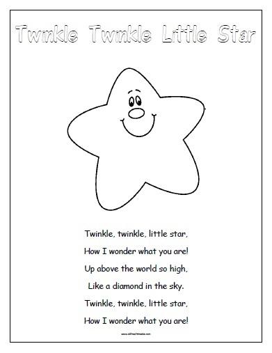 Nursery Rhymes Free Printable Allfreeprintable Com
