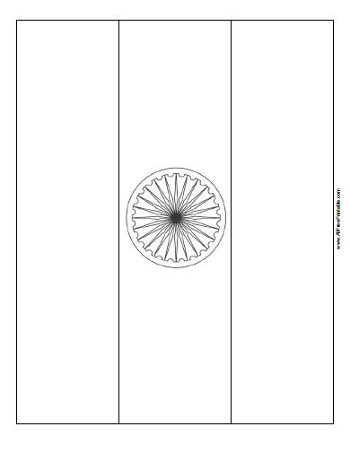india flag coloring page free printable allfreeprintable com