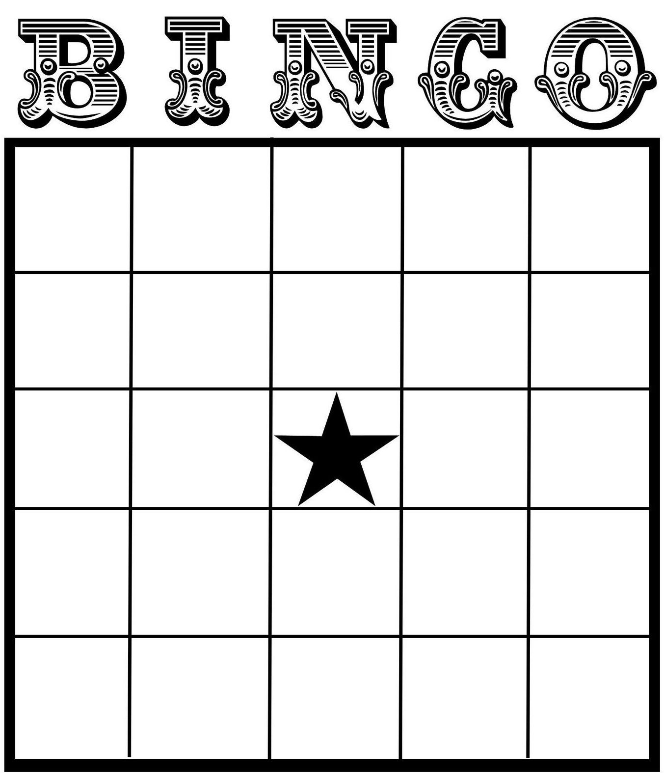 Free Printable Bingo Cards For Teachers