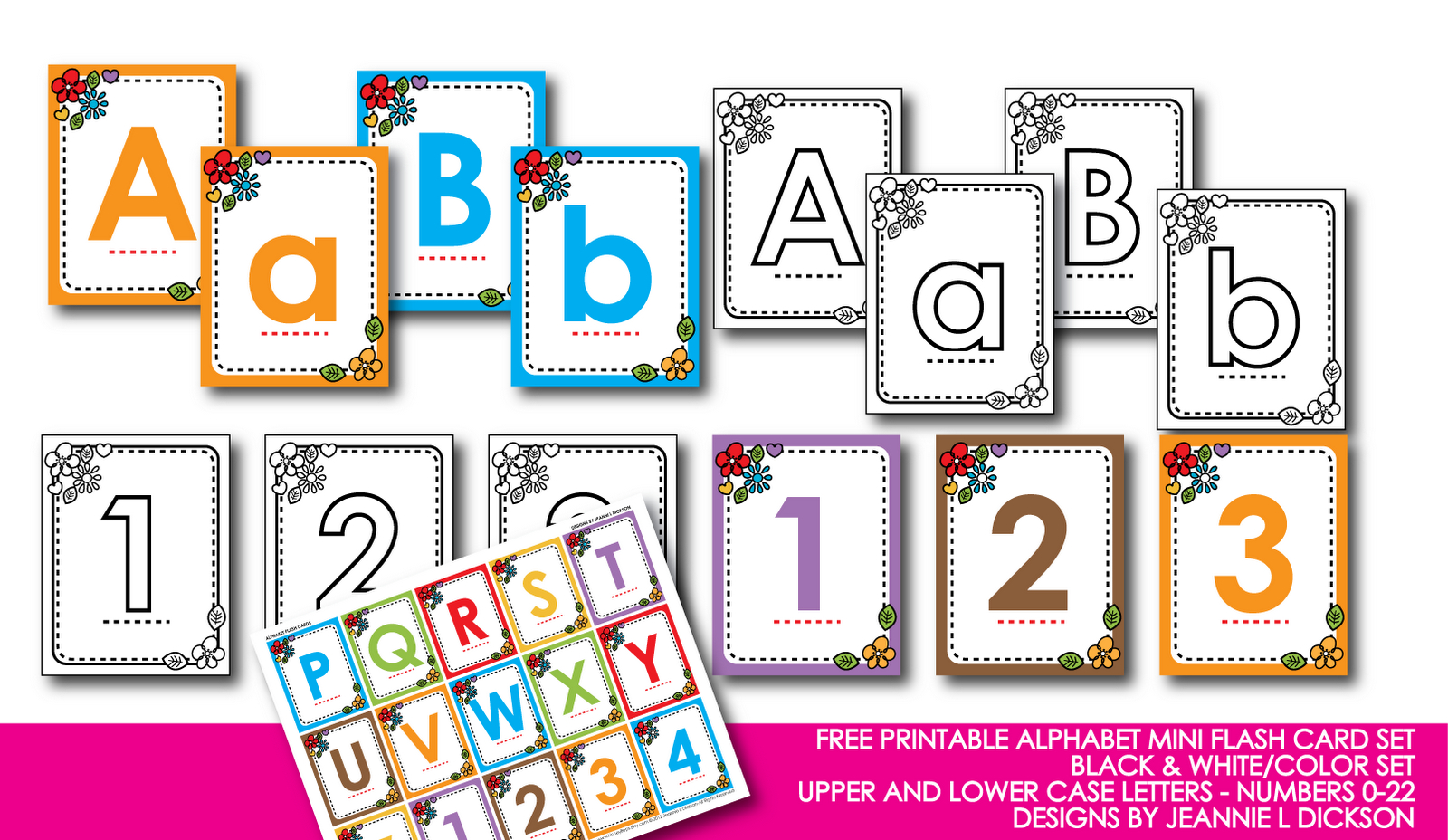 Abc Flash Cards Free Printable That Are Dynamic