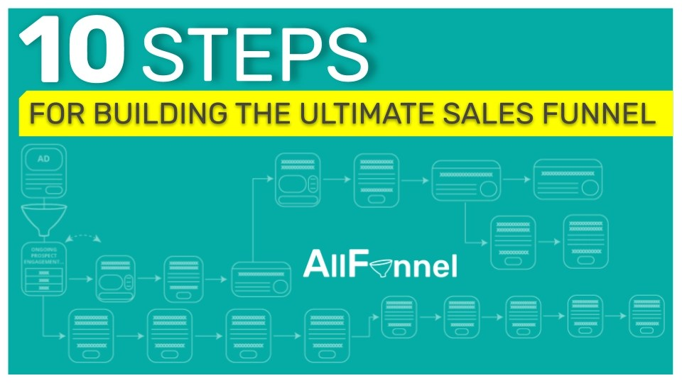 All Funnel 10 Steps for Building the Ultimate Sales Funnel
