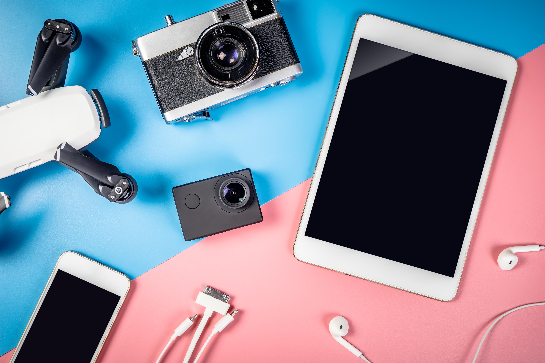 Copertina tecnologia all gadgets