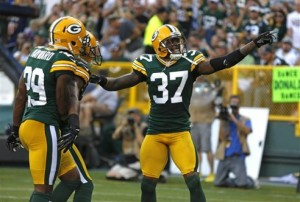 Packers 2012 Cornerbacks Sam Shields and Casey Hayward