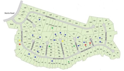 Site Plan For Quailwood Flowery Branch