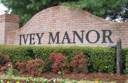 Cumming GA Neighborhood Ivey Manor