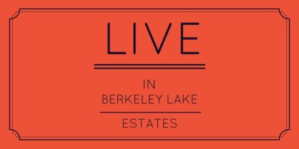 live in berkeley lake estates