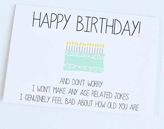 Jokes Put Birthday Card