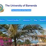 University Of Bamenda Admission List