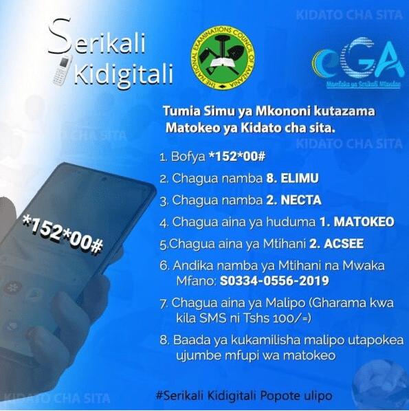 Check NECTA ACSEE RESULTS