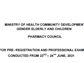 Pharmacy Council Results