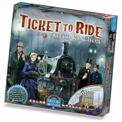 Ticket to Ride UK Expansion