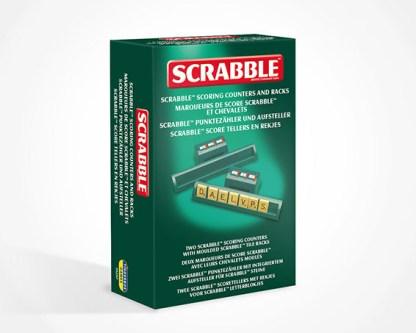Scrabble Scoring Racks and Markers