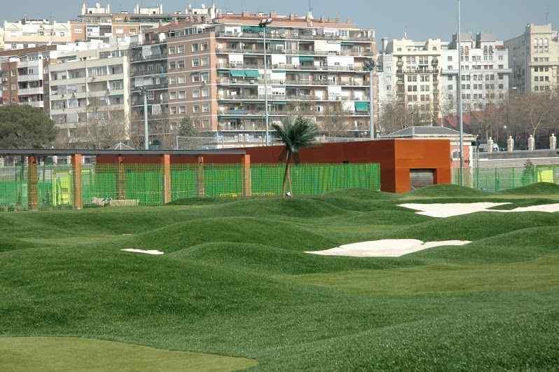 campo de golf canal de isabel II