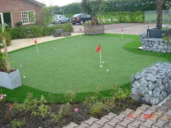 cesped artificial especial para golf
