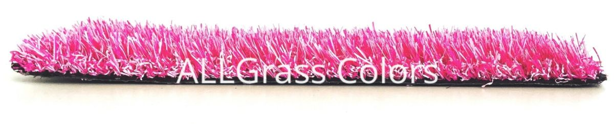 cesped artificial rosa