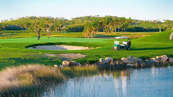 construccion de campos de golf