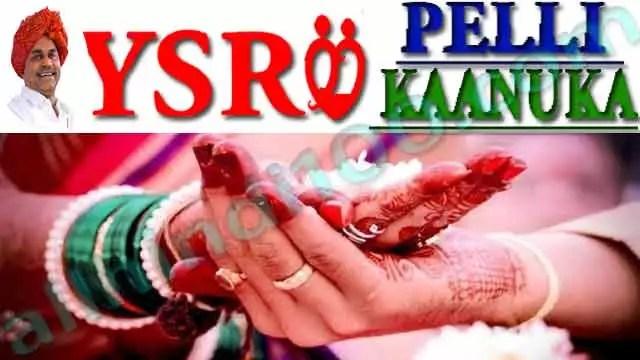 YSR Pelli Kanuka Scheme 2021 Online Apply   Application Status , Eligibility , Documents