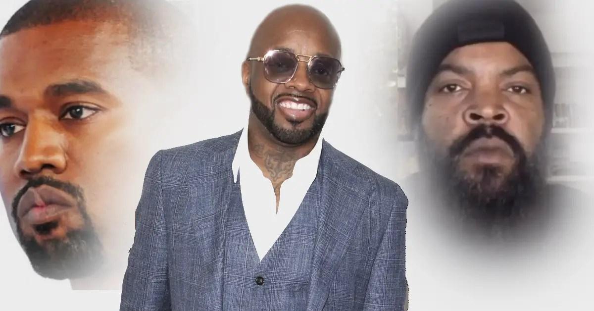 Kanye West Jermaine Dupri Ice Cube