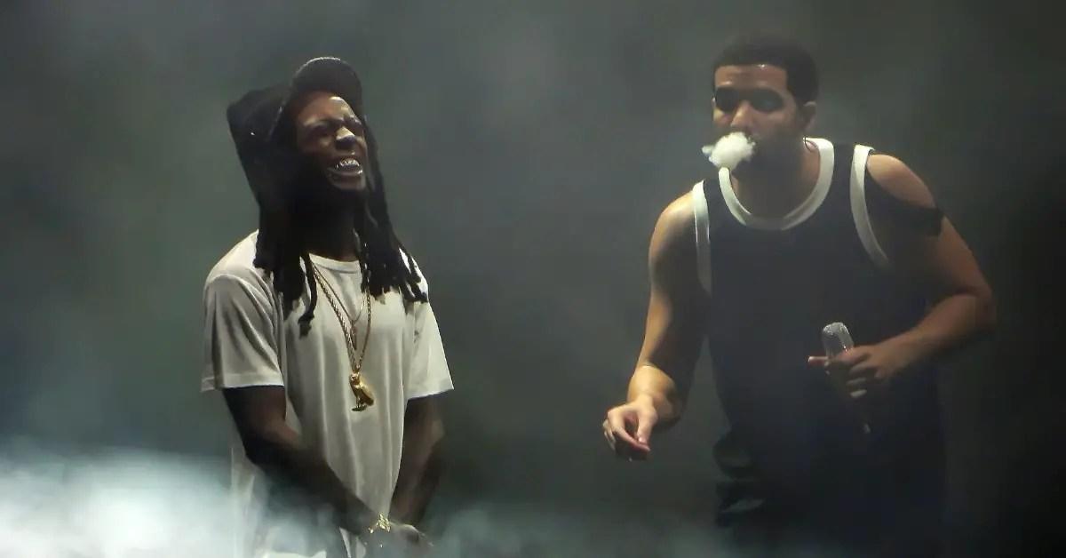 Lil Wayne and Drake