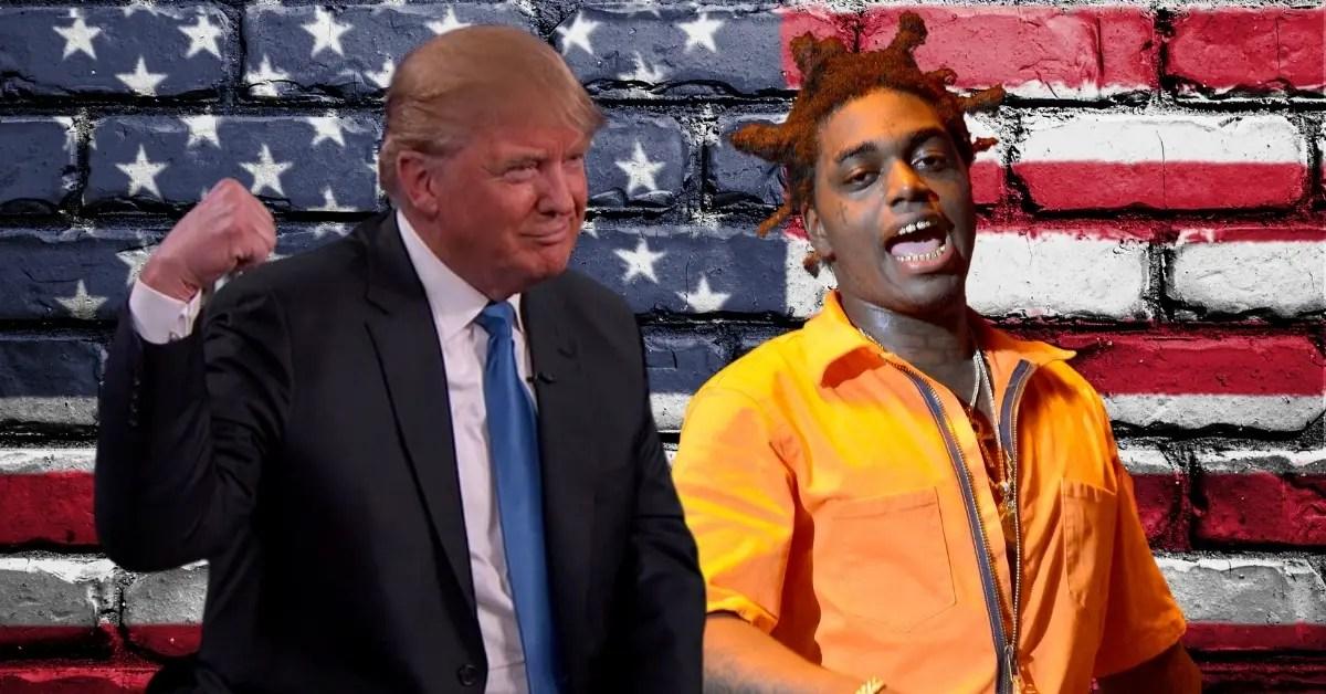Trump and Kodak Black