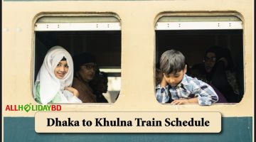 Dhaka to Khulna Train Schedule