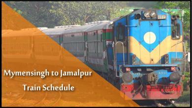 Mymensingh to Jamalpur Train Time
