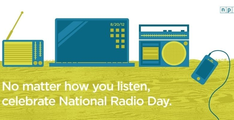 Celebrate National Radio Day