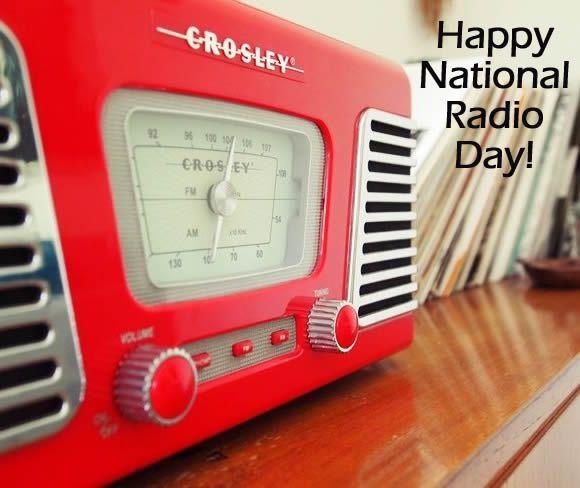 Happy National Radio Day Image