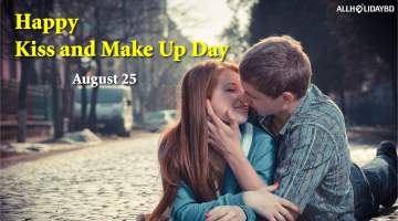 Kiss and Make Up Day Wishes