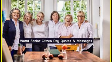 Senior Citizen Day Quotes