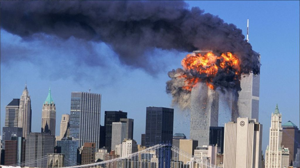 September 11 photo Twin Towers