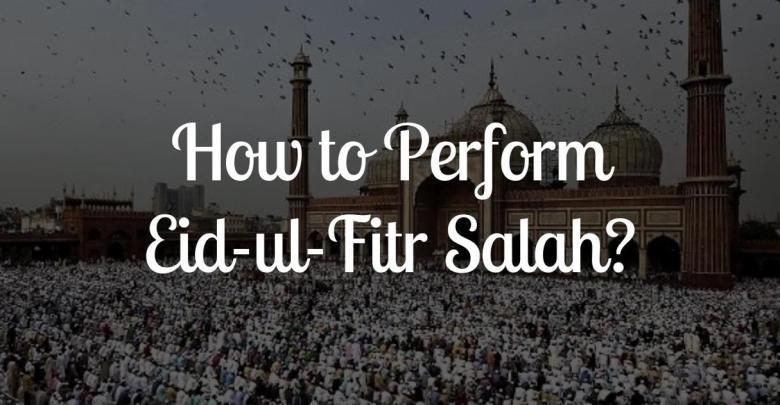 How to Pray Eid Prayer