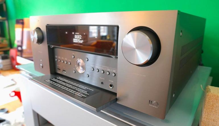Denon AVC-A110 receiver - Anniversary model