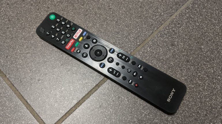 Remote of Sony KD-55XH9005 LCD LED TV (XH90-serie)
