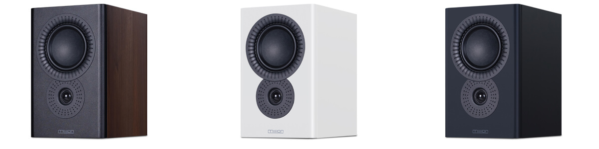 Mission-LX-Connect loudspeakers in three different colors