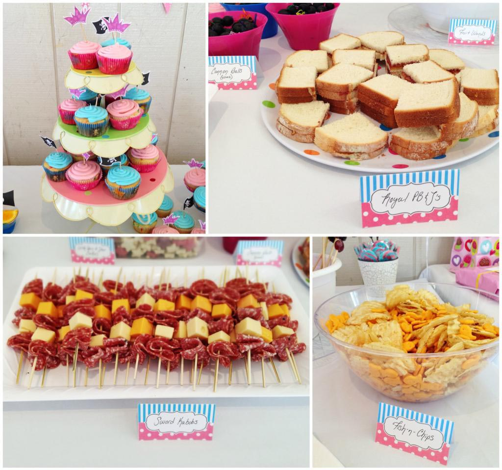Pirate Birthday Party Food Ideas Kids