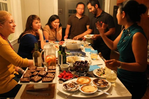 Image result for family Dinner Party