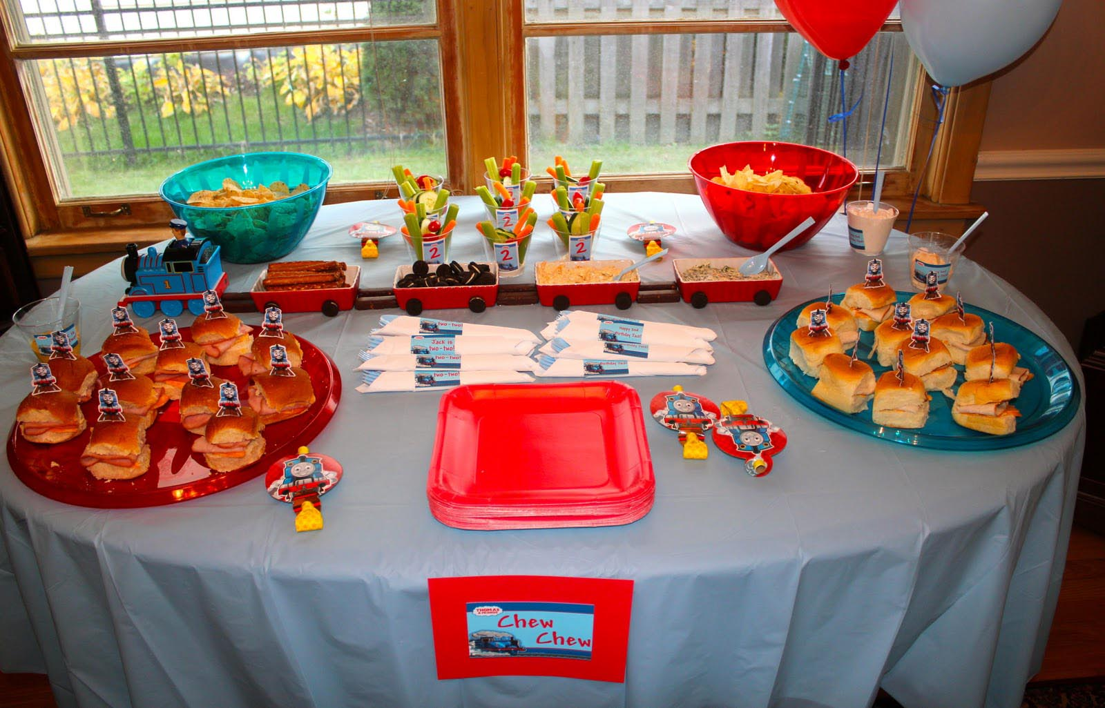 Train Ideas For Birthday Party