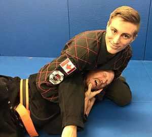 Certified Kyusho Instructor Master Greg Hiltz