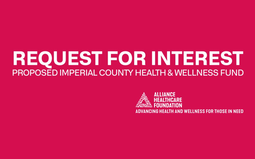 Imperial County Focus of Proposed Health and Wellness Fund