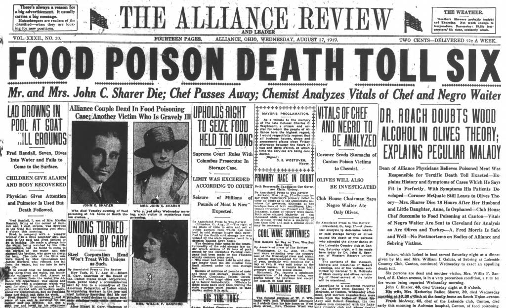 Alliance Review, Aug. 27,1919