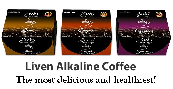 aim global liven coffee