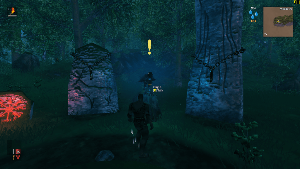 Stone for each bosses are surrounds the player's spawn point.