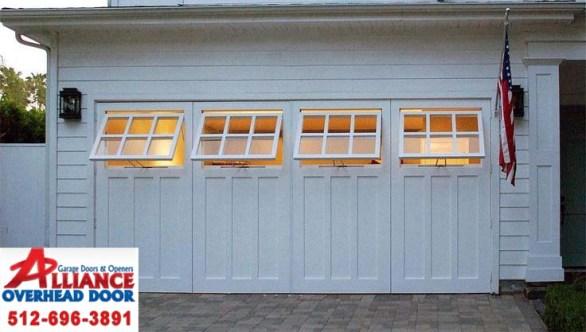 Custom Garage Door Windows Austin