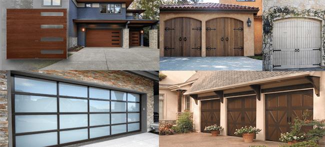 5 Great Garage Door Styles