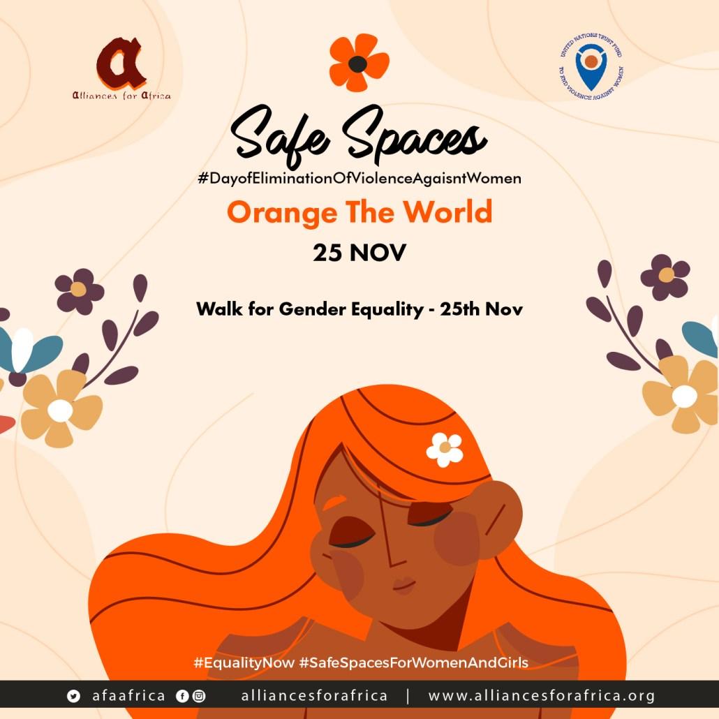 Orange The World, 16 Days of Activism Owerri, Nigeria, Alliances for Africa, United Nations, UNDP