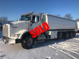 6200 gallon refined fuel truck sold