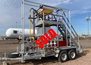 Used propane transloader sold